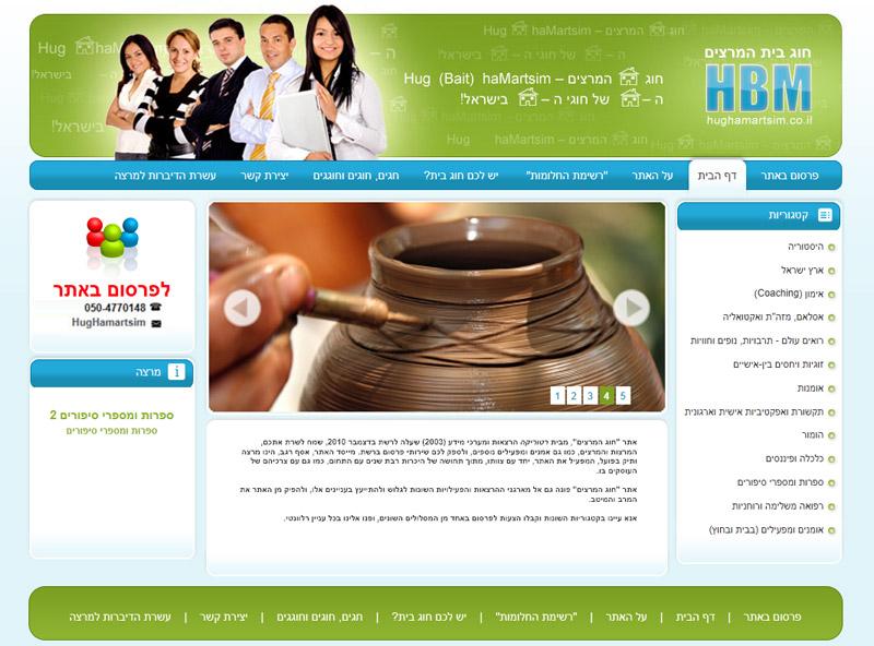 HBM - אינדקס מרצים
